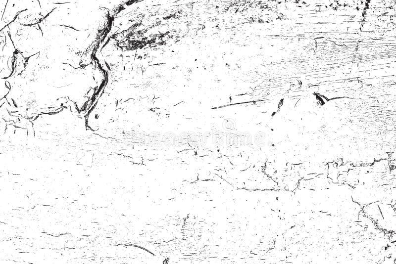 Samkopiering knäckt textur stock illustrationer