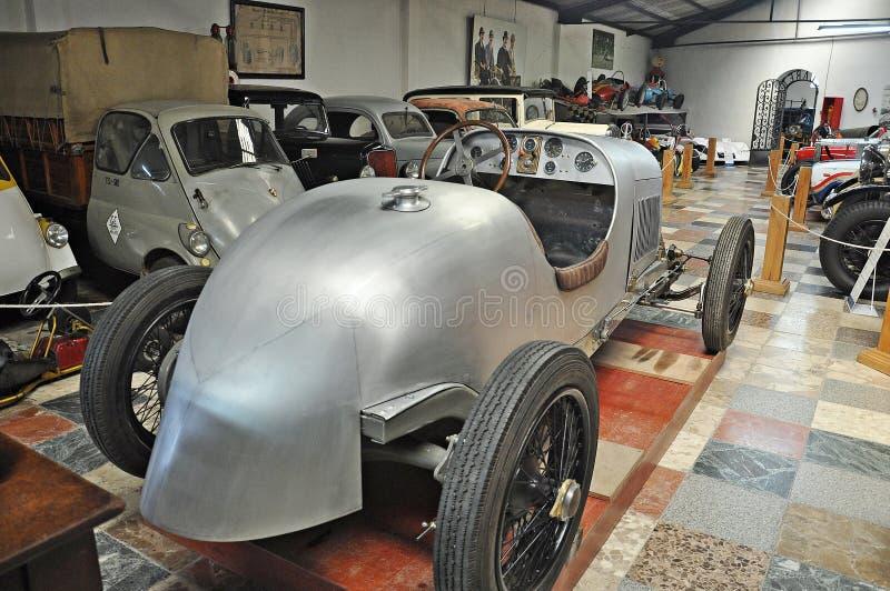 Samling av bilar Salvador Claret royaltyfri foto