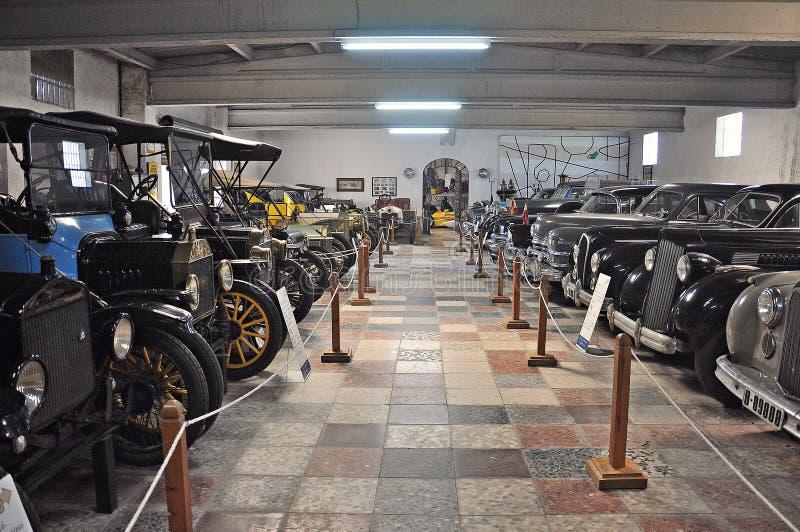 Samling av bilar Salvador Claret arkivfoton