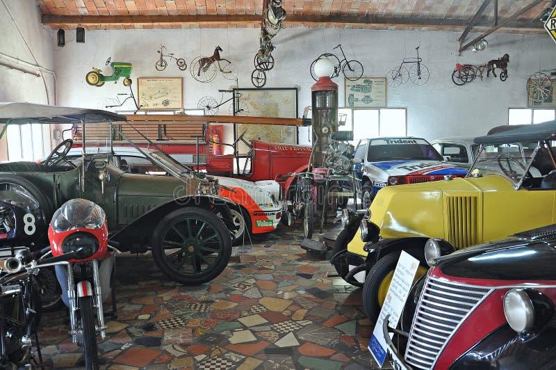 Samling av bilar Salvador Claret royaltyfri fotografi