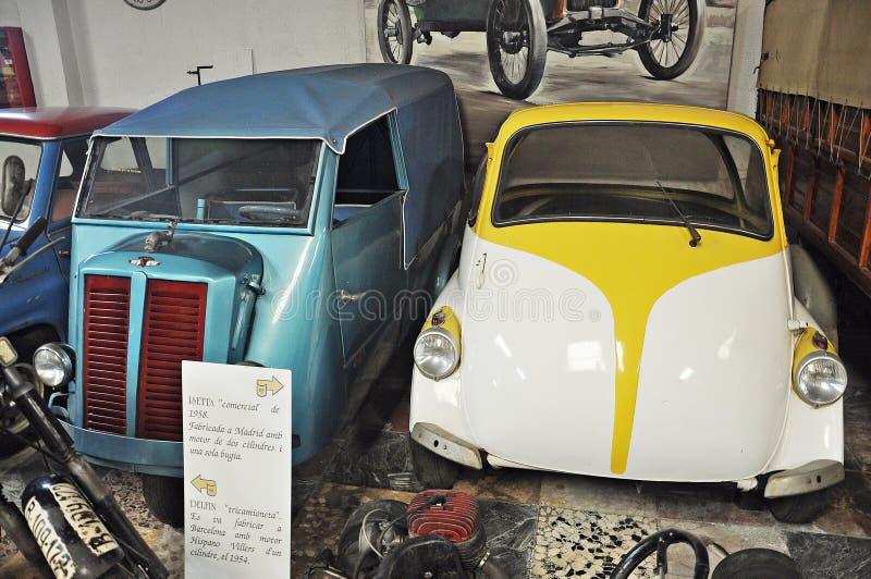 Samling av bilar Salvador Claret fotografering för bildbyråer