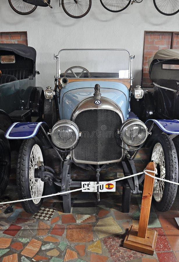 Samling av bilar Salvador Claret royaltyfria foton