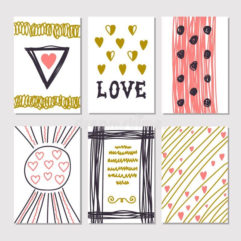 romantiska kort