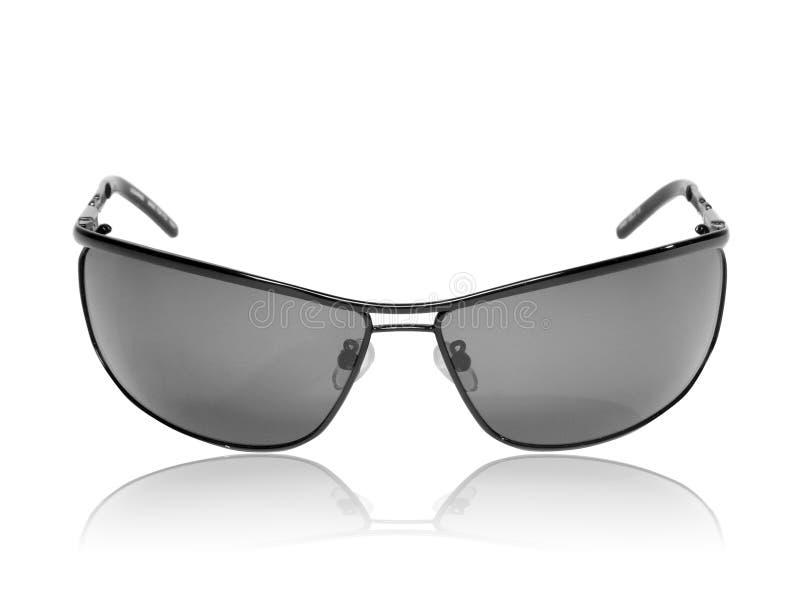 Samling av svart mansolglasögon. royaltyfria foton