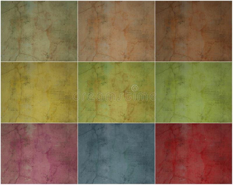 samling cracked murbruksmokeyvägg vektor illustrationer