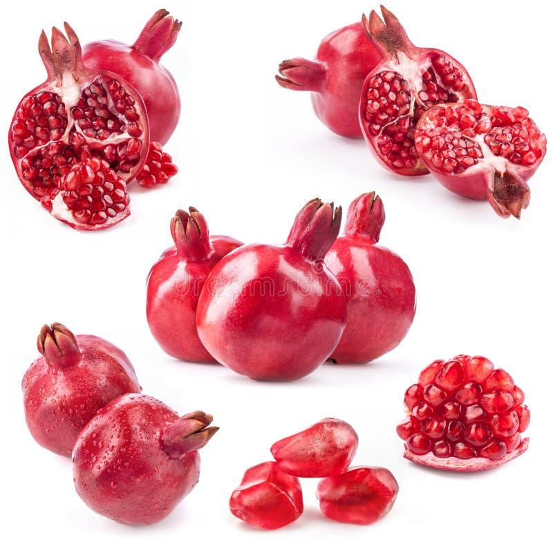 Samlingar av pomegranaten arkivfoto