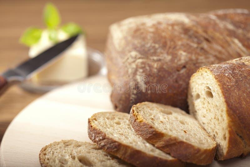 Sammansättning av bröd arkivfoton