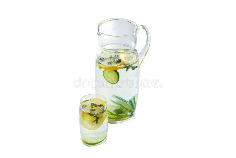 Sammansättning av ingefäran, limefrukt, citron, mintkaramell som isoleras på vit bakgrund royaltyfri foto