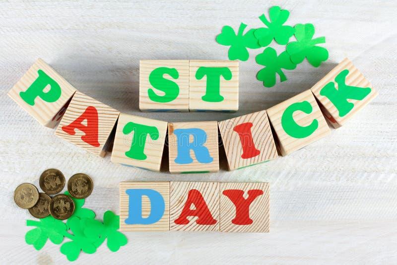 Sammansättning av St Patrick royaltyfri foto