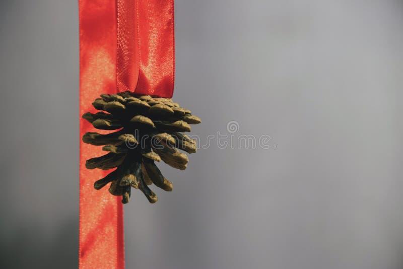 Sammansättning för jul och för nytt år med pappersexercins och strobilen arkivbilder