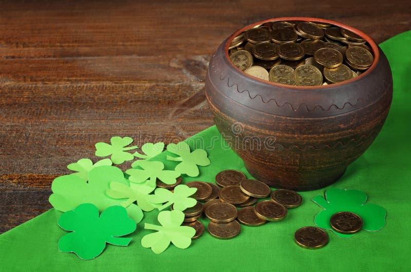 Sammansättning till dagen av St Patrick arkivbilder