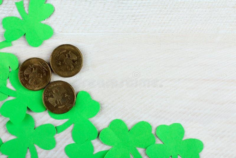 Sammansättning till dagen av St Patrick royaltyfri fotografi