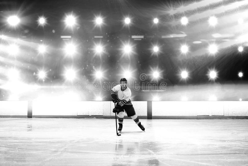 Sammansatt bild av hockey arkivfoton