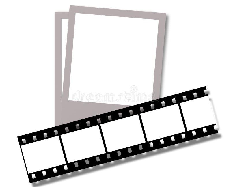 sammansatt film vektor illustrationer