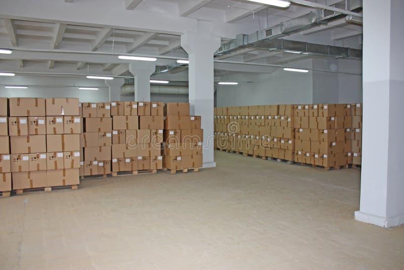 Sammelpacklager lizenzfreie stockfotos