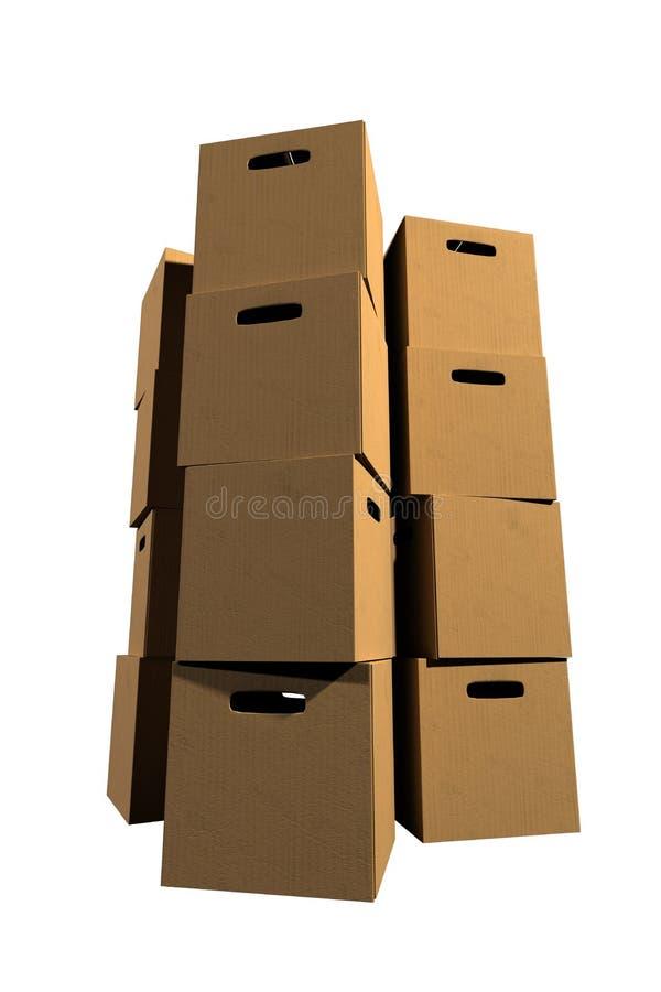 Sammelpacks stockfoto