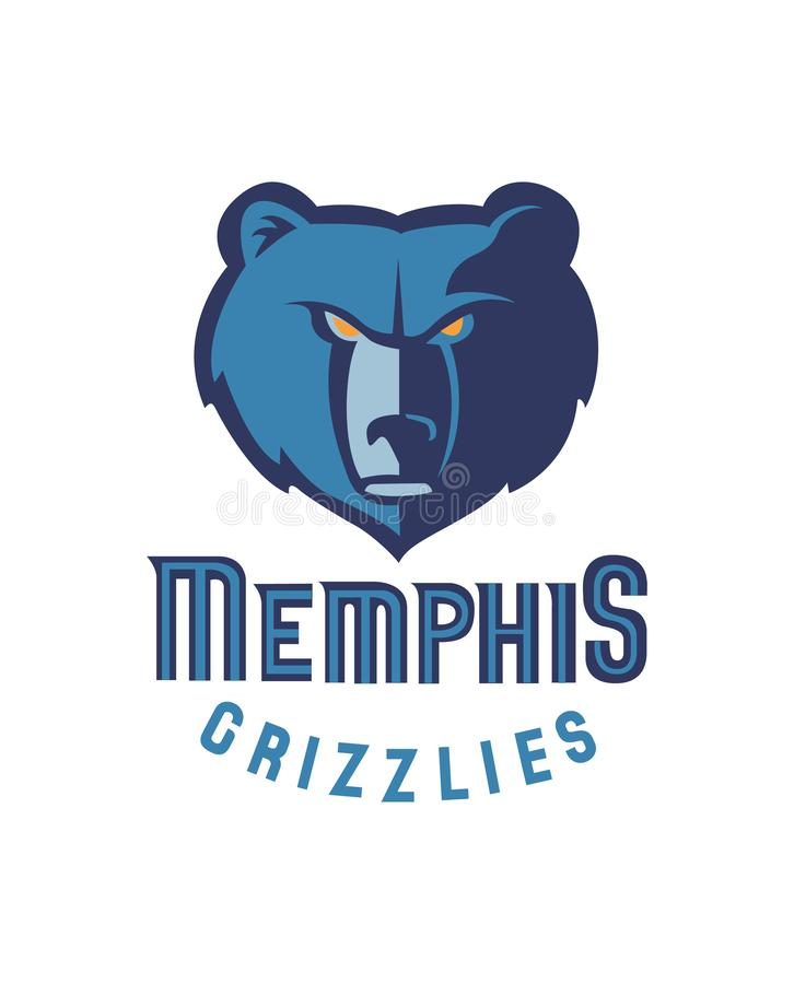 Sammlung der NBA-Team-Logovektorillustration stock abbildung
