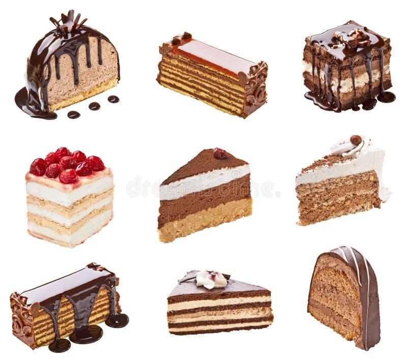 Sahnekuchen stockfotografie
