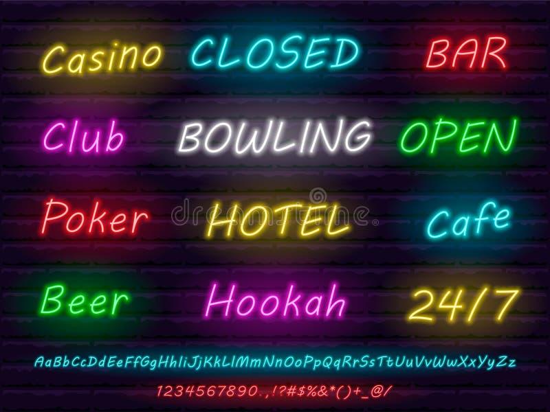 Casino Schriftart