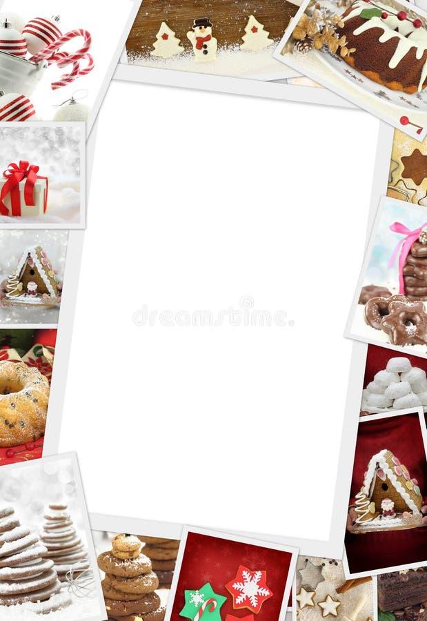 Sammlung Weihnachtsfotos stockbilder