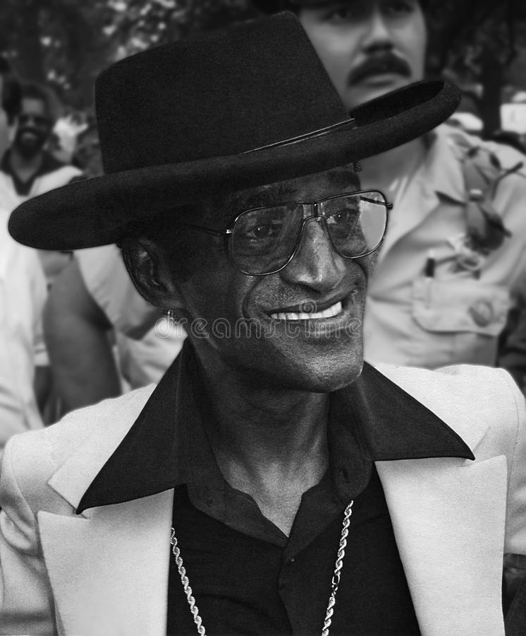 Sammy Davis Jr. royalty free stock image