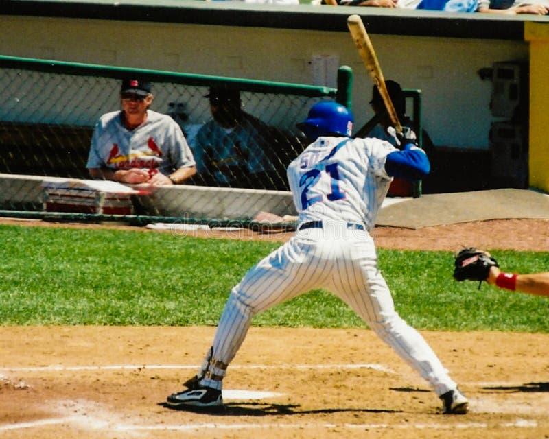 Sammy Sosa Chicago Cubs fotografía de archivo