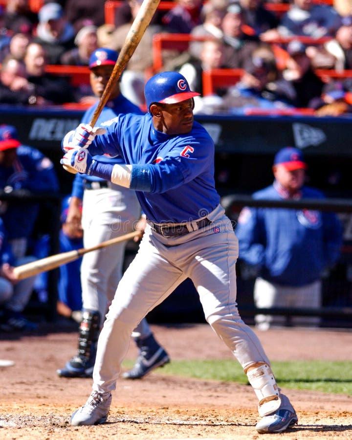 Sammy Sosa Chicago Cubs foto de archivo libre de regalías