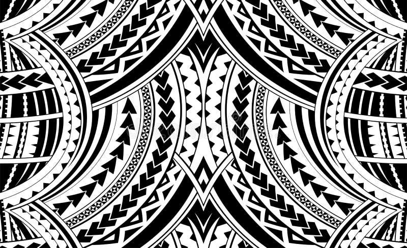 Samoa stilprydnad vektor illustrationer