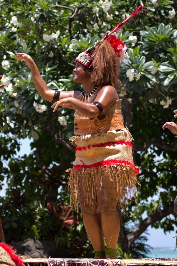 Samoan Prinses royalty-vrije stock foto's
