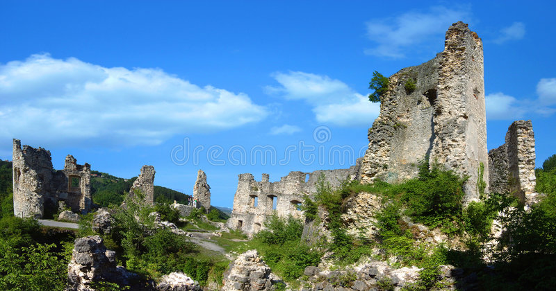 The Samobor old Town stock photography