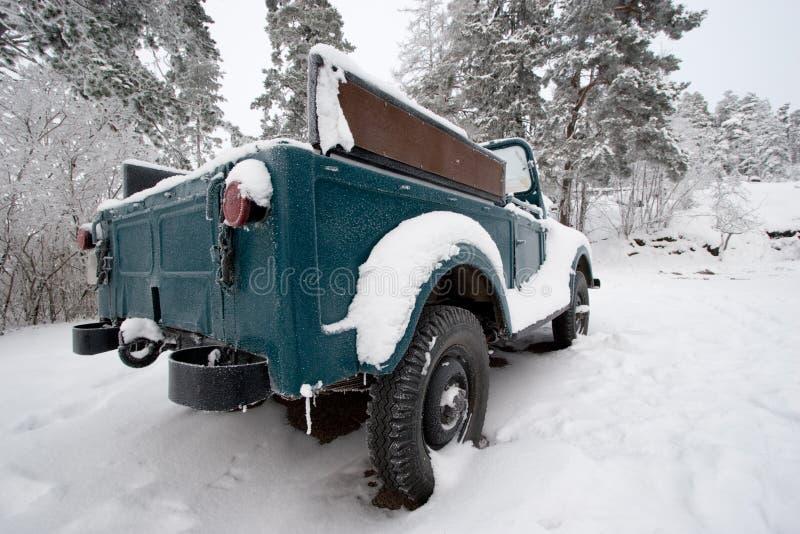 samochód śnieżny zdjęcie stock