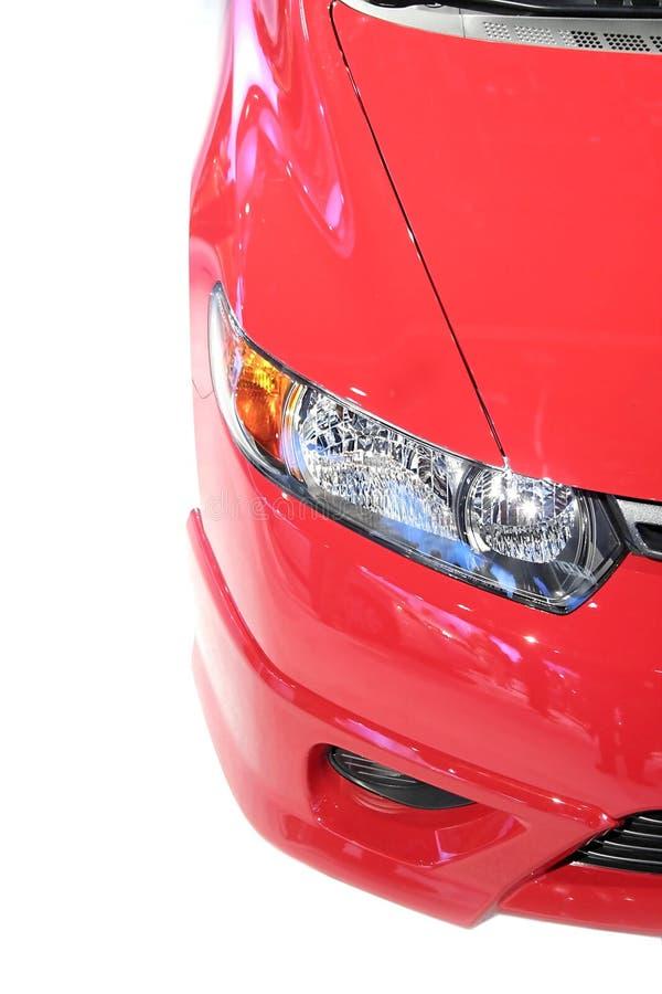 samochód czerwień kierownicza lampowa zdjęcia stock