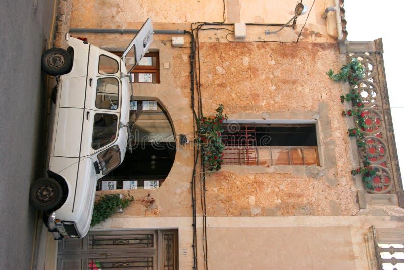 samochód do domu Mallorca zdjęcie royalty free