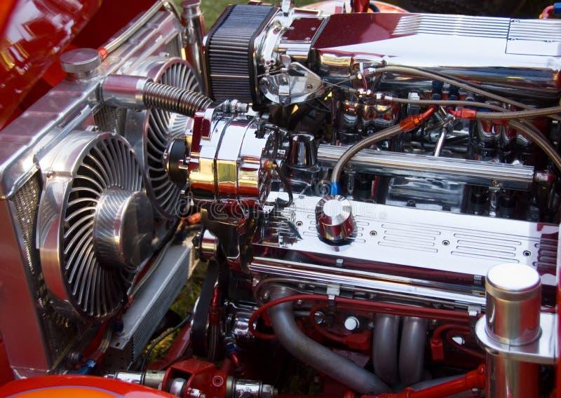 samochód dostosowywający silnik zdjęcie stock
