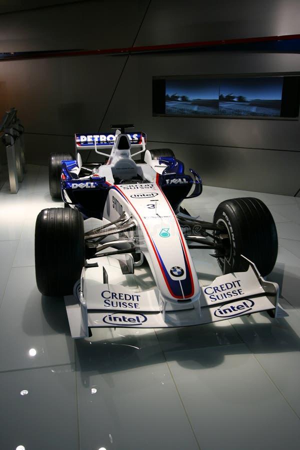 samochód f1 zdjęcia stock