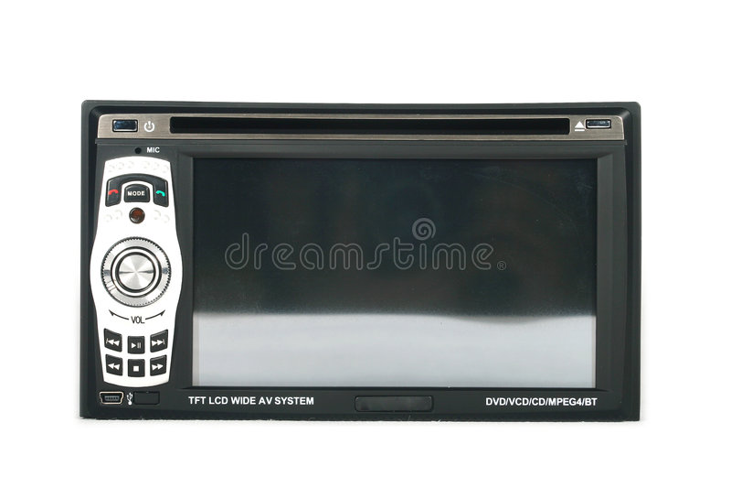 samochód monitor obraz stock