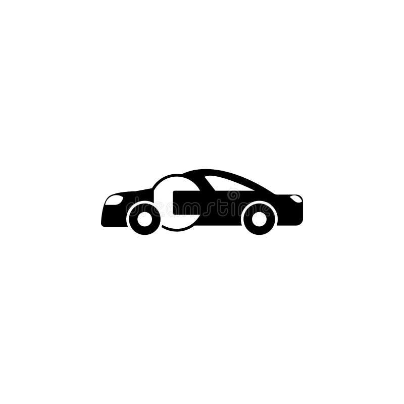 Samochód naprawa, wyrwanie ikona Element remontowa ikona dla mobilnych pojęcia i sieci apps Szczegółowa samochód naprawa, wyrwani royalty ilustracja