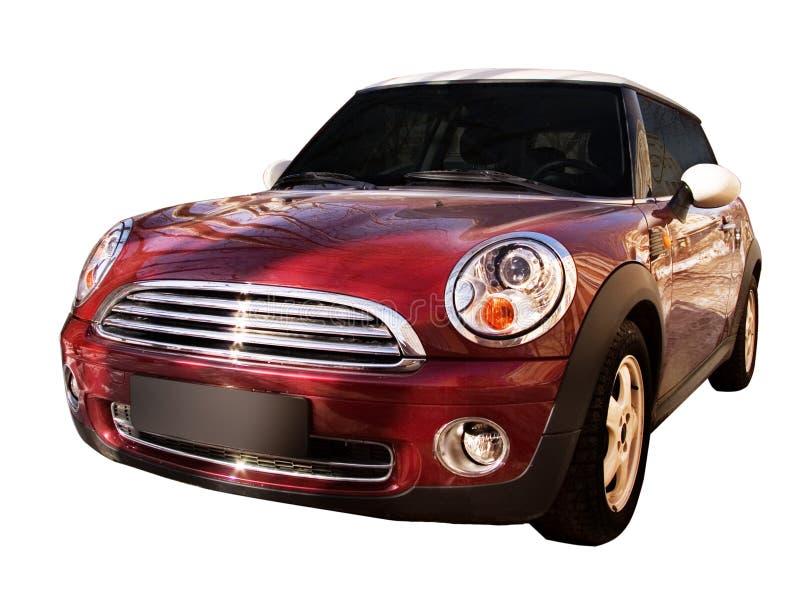 samochód odizolowywający obrazy stock