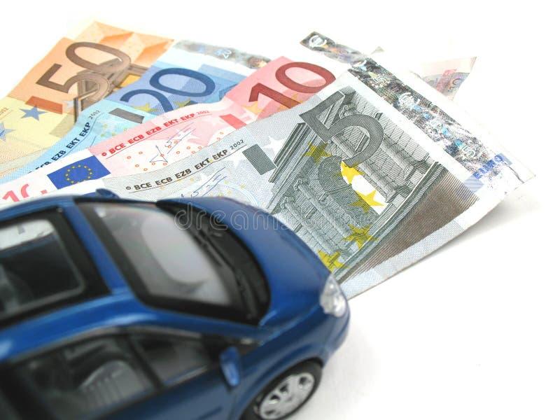 samochód pieniądze fotografia royalty free