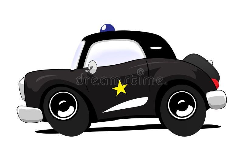 samochód policja ilustracja wektor