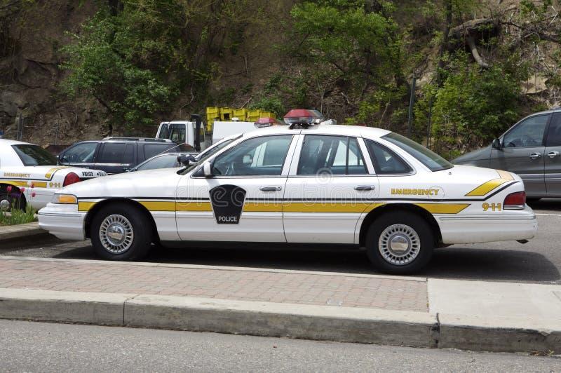 samochód policji zdjęcie stock