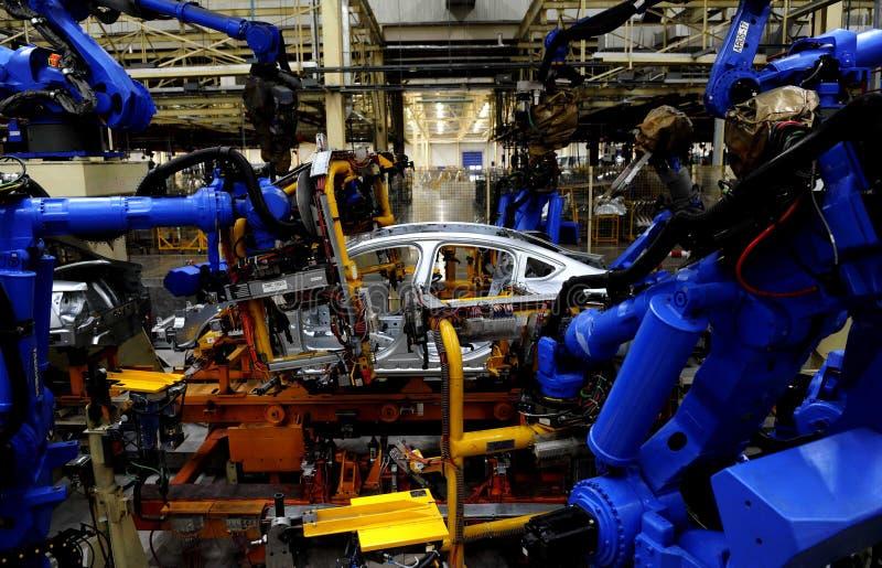 samochód produkcja zdjęcie stock