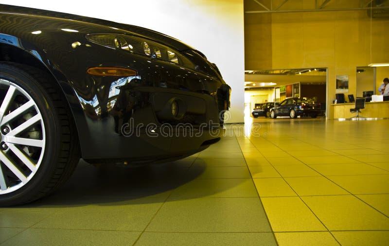 samochód przedniej części salonie fotografia royalty free