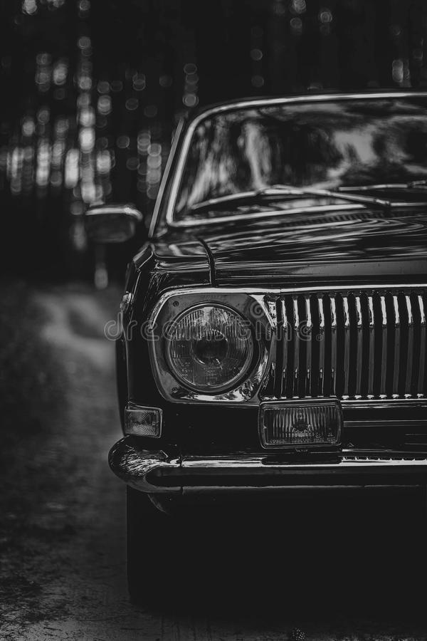 Samochód Radzieccy czasów samochody zdjęcia stock