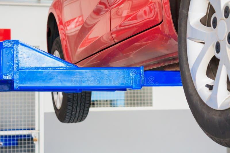 Samochód remontowa stacja obsługi obrazy royalty free