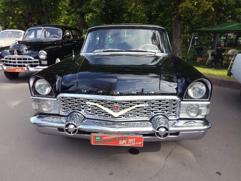 samochód retro obraz stock