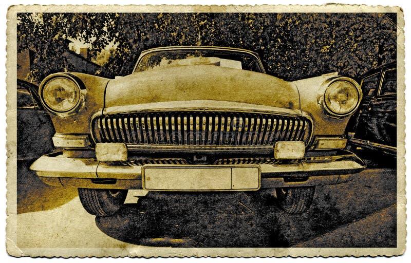 samochód retro fotografia royalty free