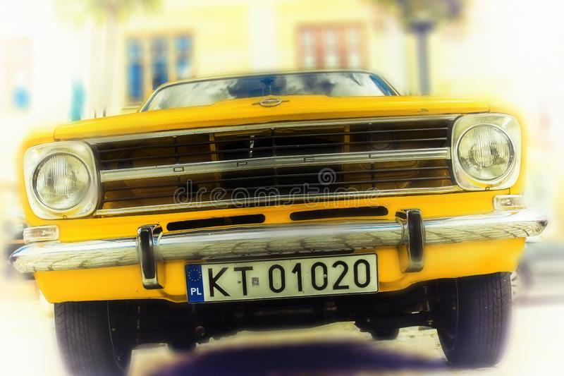 samochód retro obrazy stock