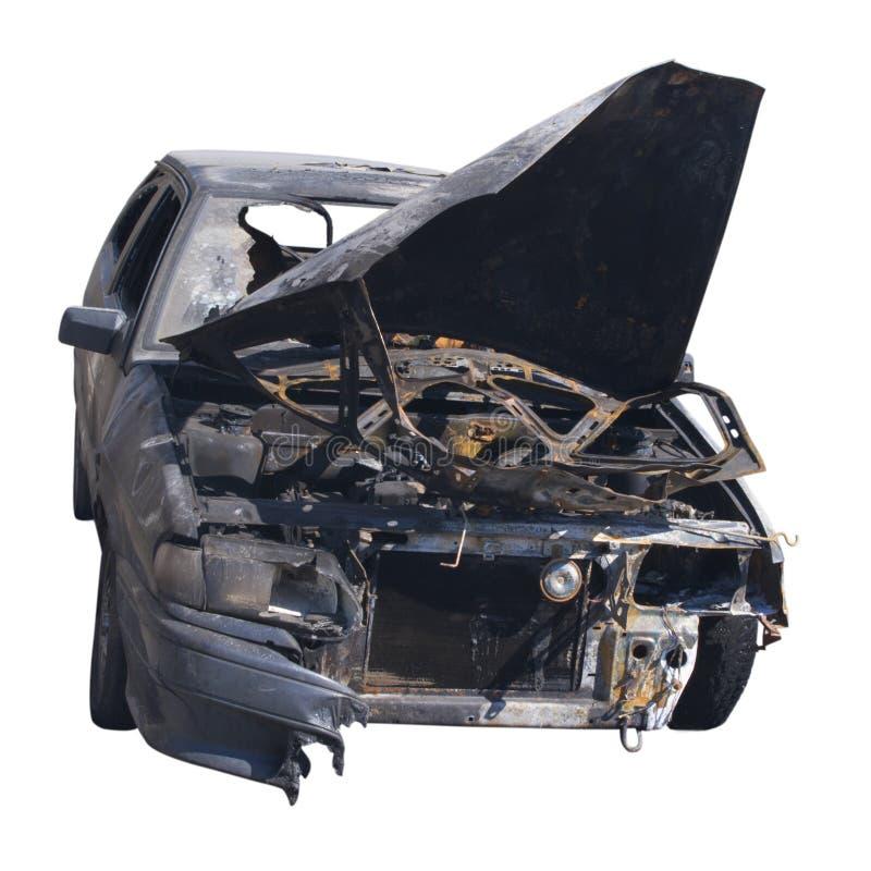 samochód rujnował obrazy stock