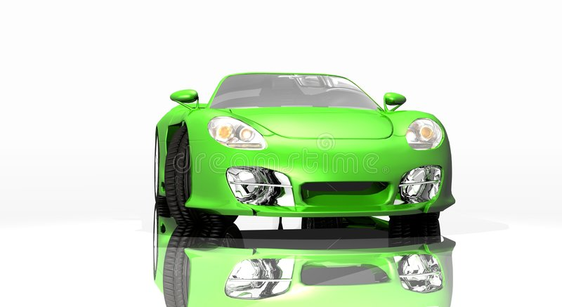 samochód sportowy royalty ilustracja